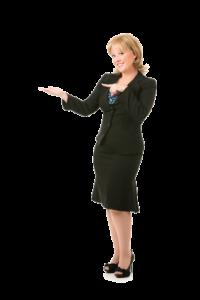 Portrait of Businesswomen Transparent